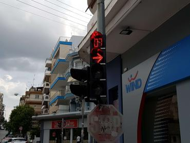 Replacing Traffic Signal Lights with LED